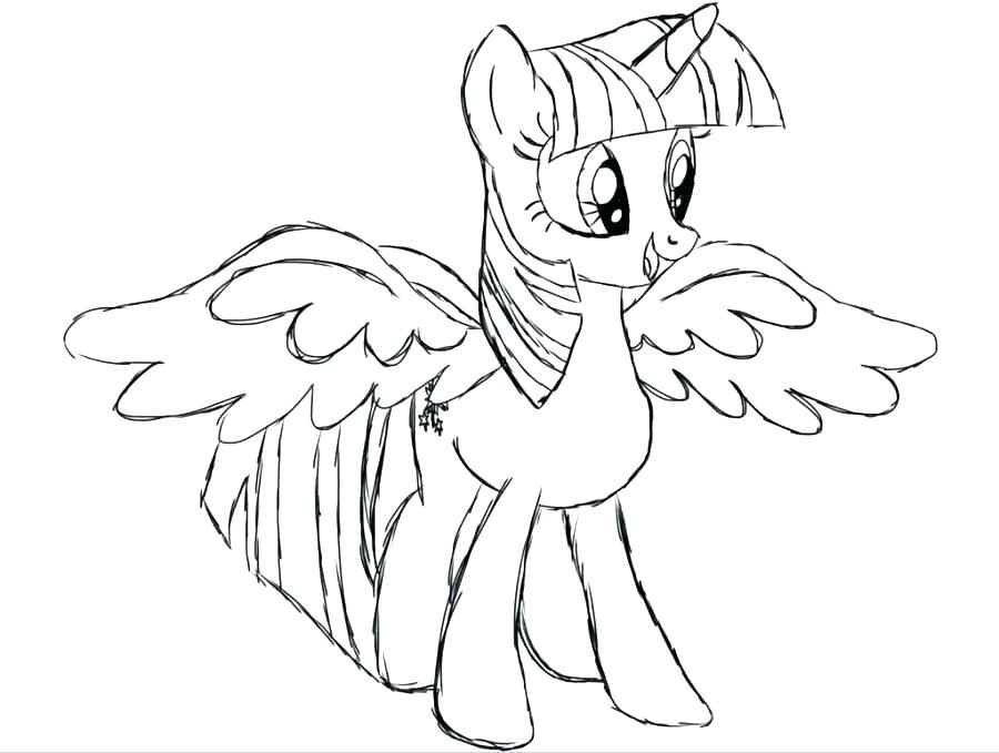 900x679 Twilight Sparkle Coloring Page Together With Coloring Pages My