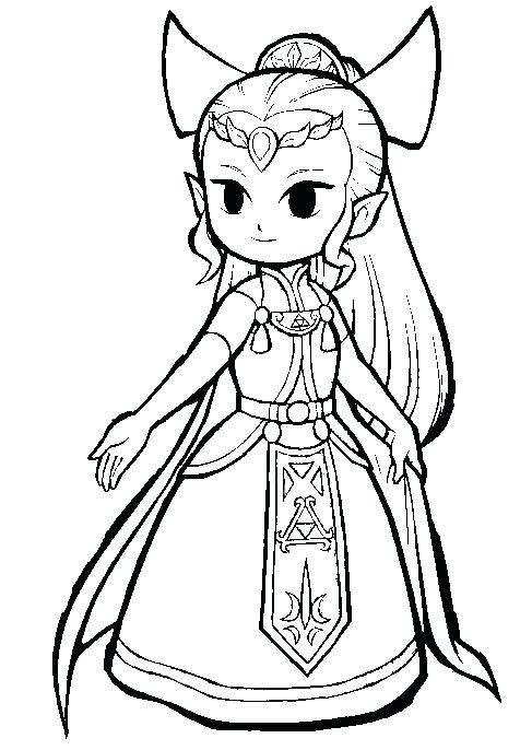 487x686 Legend Of Zelda Twilight Princess Coloring Pages Coloring Pages