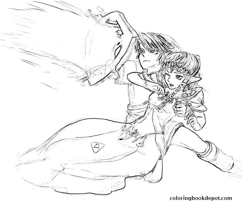 800x667 Legend Of Zelda Twilight Princess Character Yumiko Fujiwara