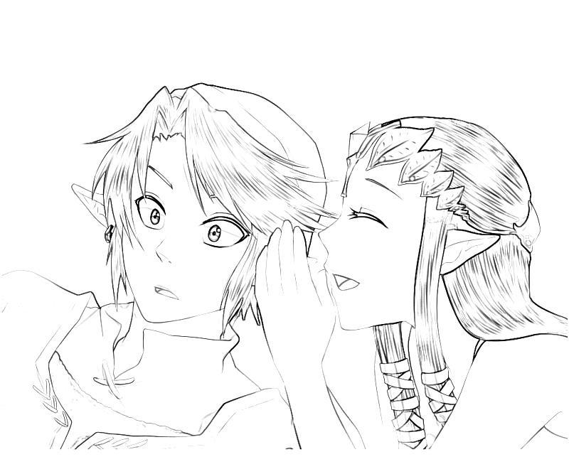 800x667 Legend Of Zelda Twilight Princess Coloring Pages