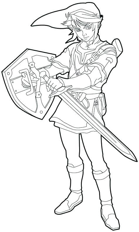 474x790 Princess Zelda Coloring Pages N Legend Of Zelda Twilight Princess