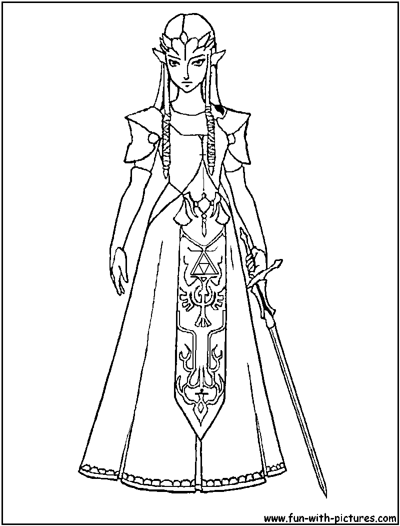 800x1050 Zelda Twilight Princess Coloring Pages Legend Of Zelda Coloring