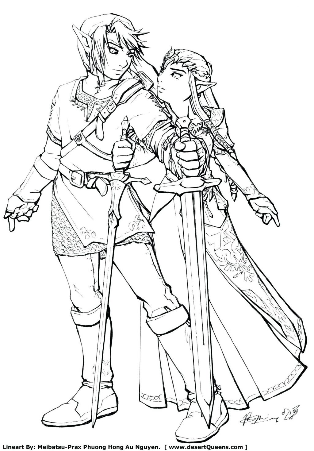 1024x1470 Coloring Pages Zelda Coloring Pages Legend Of For Kids