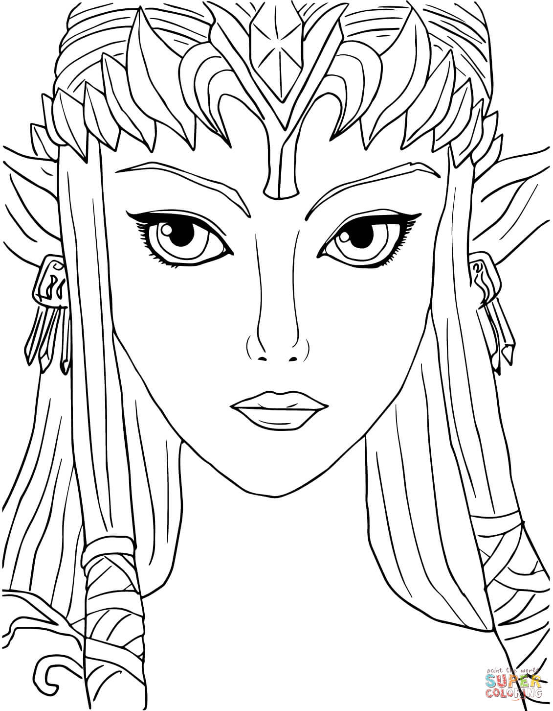 1131x1452 Twilight Princess Coloring Pages Printable
