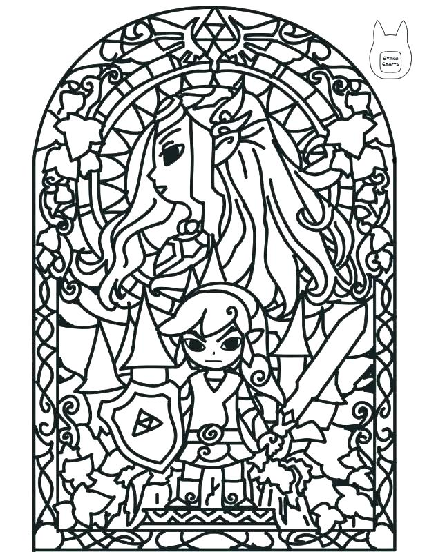 618x800 Legend Of Zelda Coloring Pages Legend Of Coloring Pages Coloring