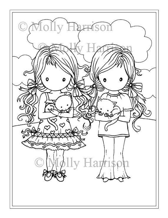 Twins Coloring Pages At Getdrawings Free Download