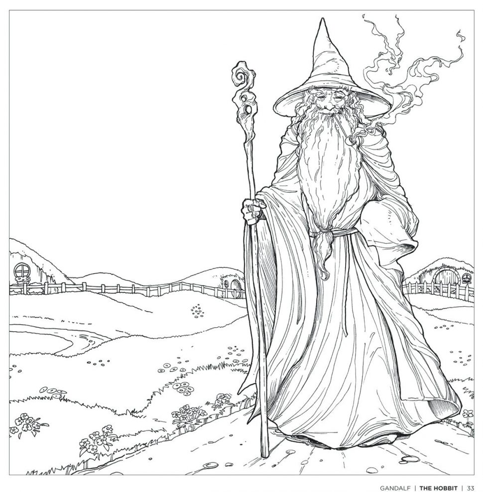 970x988 Hobbit Coloring Pages The World Project On Twitter For Hobbit
