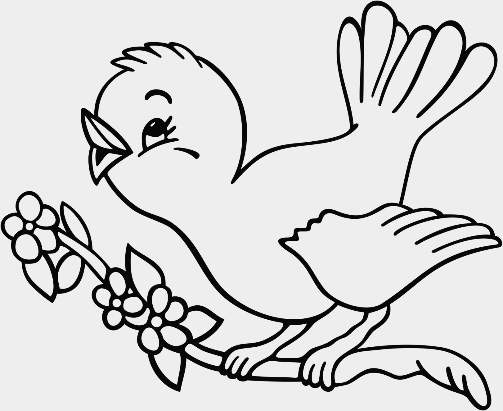 1621x1323 Birds Coloring Pages Little Bird New Twitter