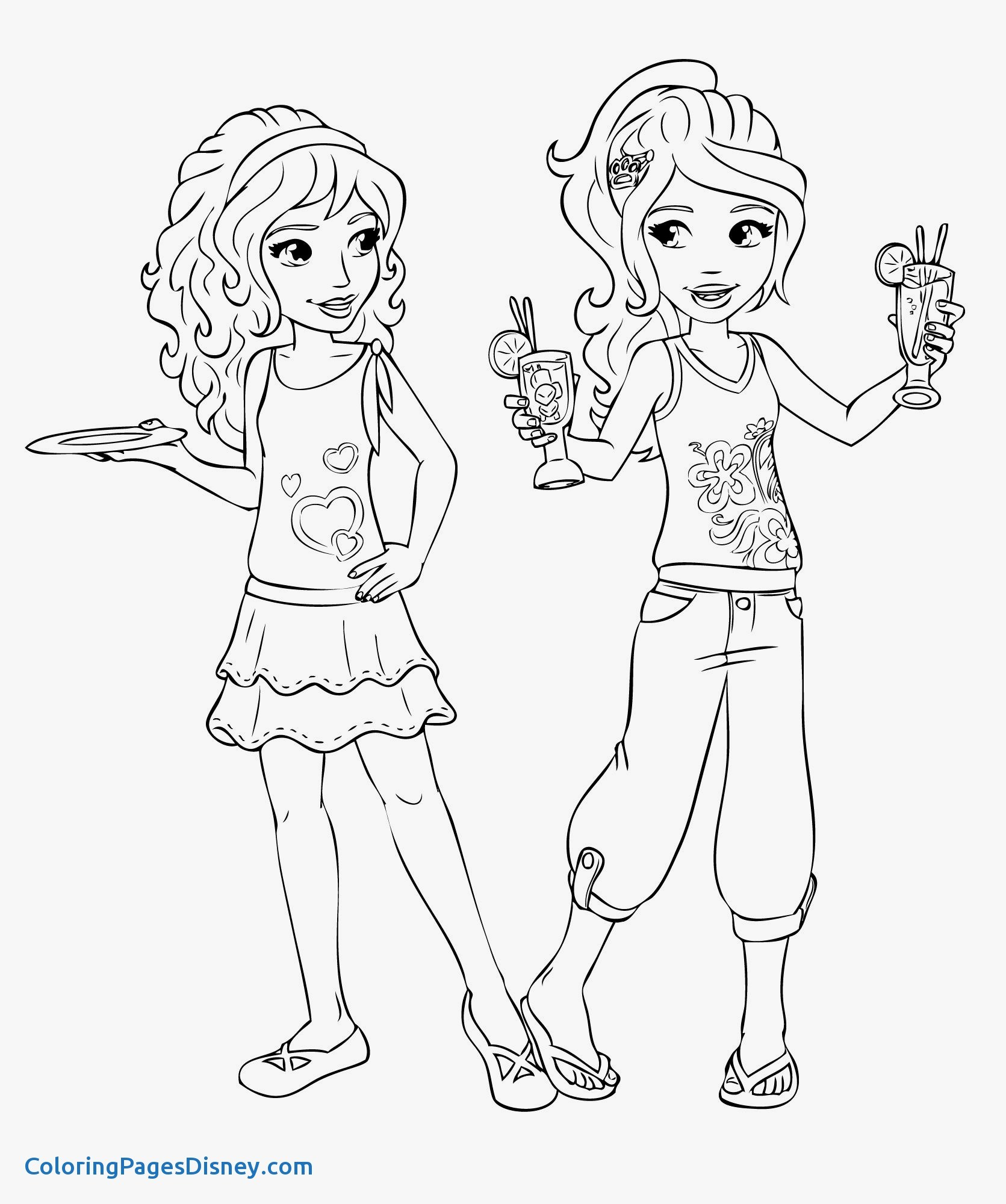 1671x2000 Coloring Pages Ninja New Lego Friends Coloring Pages Tagged