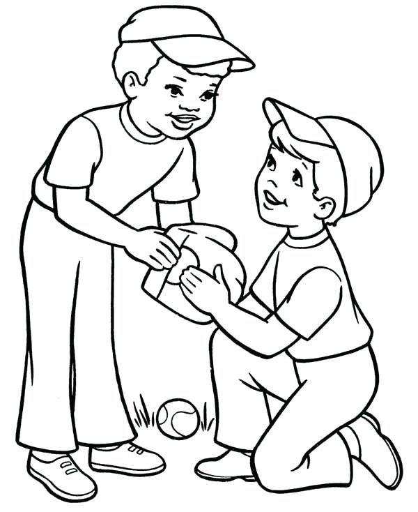 600x734 Two Face Coloring Pages Pictures Free Cat Face Coloring Page