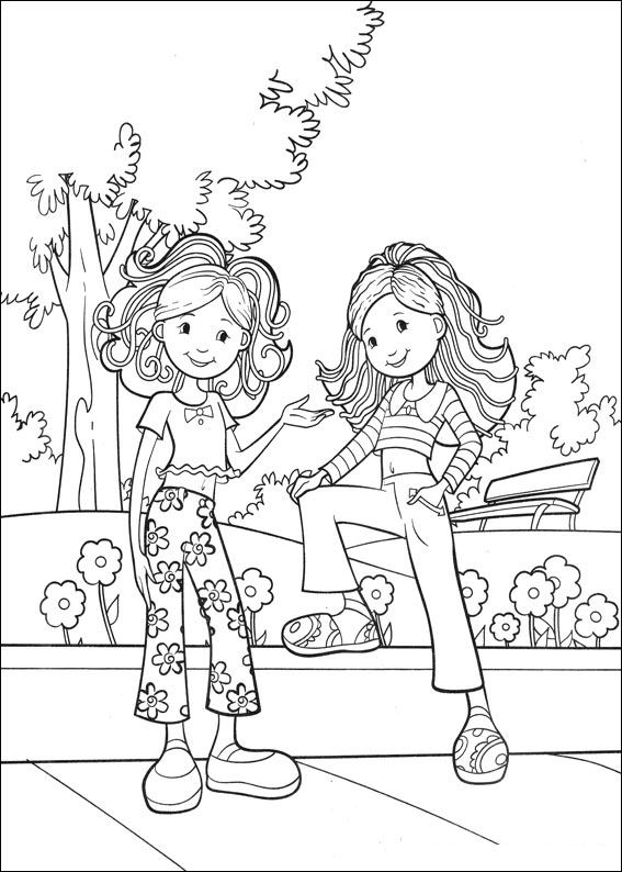 567x794 Kids N Coloring Pages Of Groovy Girls