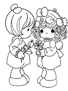 236x316 Precious Moments Coloring Pages