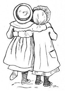 228x320 Two Girls Clipart Girls