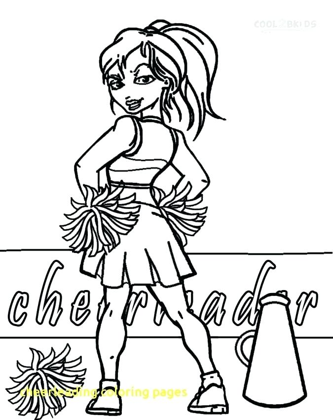 675x850 Cheerleader Coloring Pages Coloring Pages Cheerleader Coloring