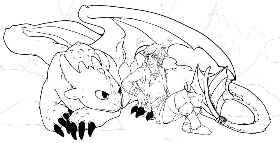 960x491 Good Free How To Train Your Dragon Coloring Pages Or Two Headed