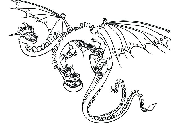 Two Headed Dragon Coloring Pages At Getdrawings Free Download