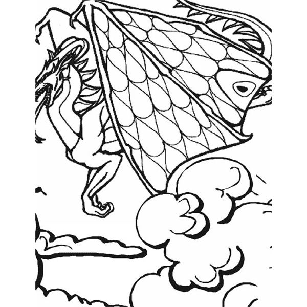 600x600 Sites For Dragon Printable Coloring Pages