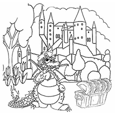230x230 Top Free Printable Dragon Coloring Pages Online