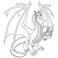 230x230 Print Coloring Image Dragons, Coloring Books And Craft