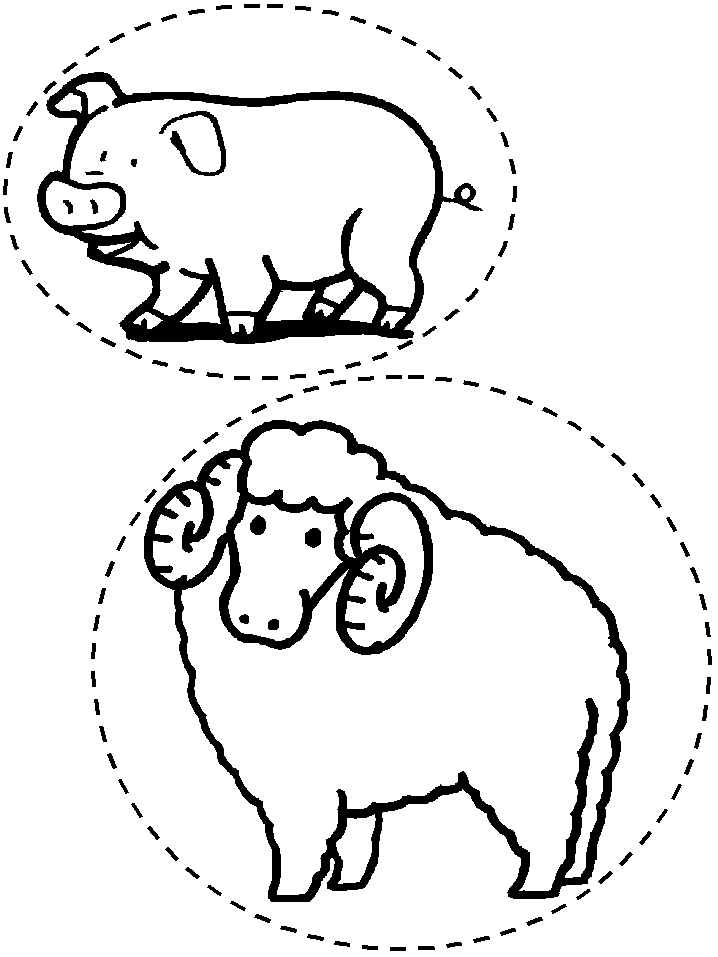Twozies Coloring Pages