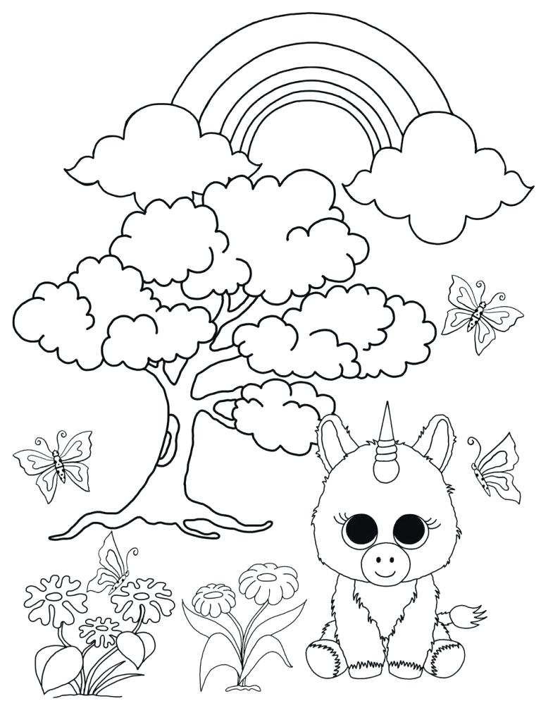 ty beanie babies coloring pages at getdrawings free