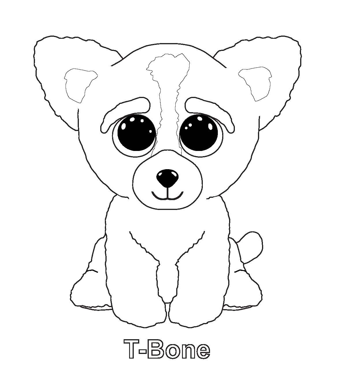 1170x1321 Ty Beanie Boos Coloring Pages T Bone Coloring