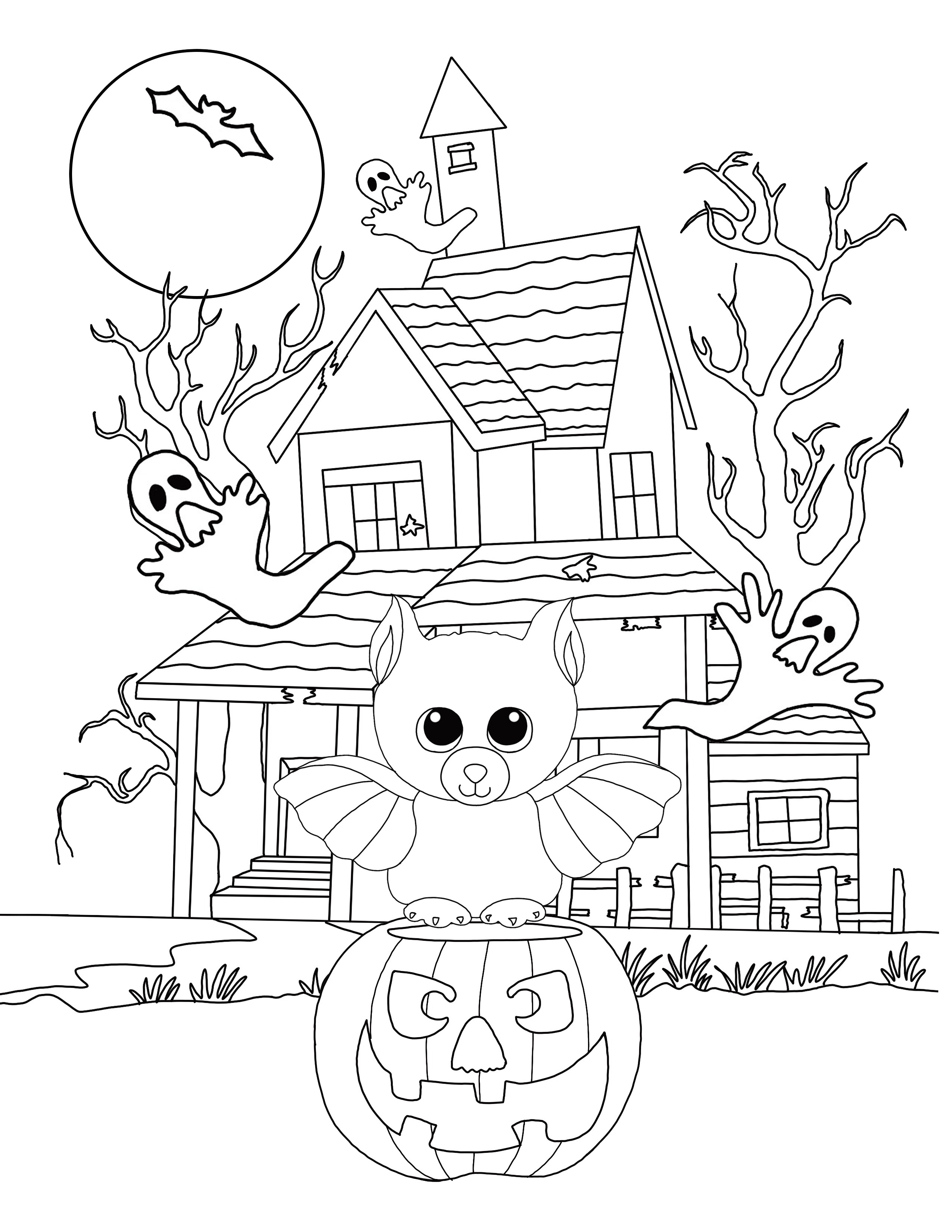 2550x3300 Free Beanie Boo Coloring Pages Download Print Cats, Dogs