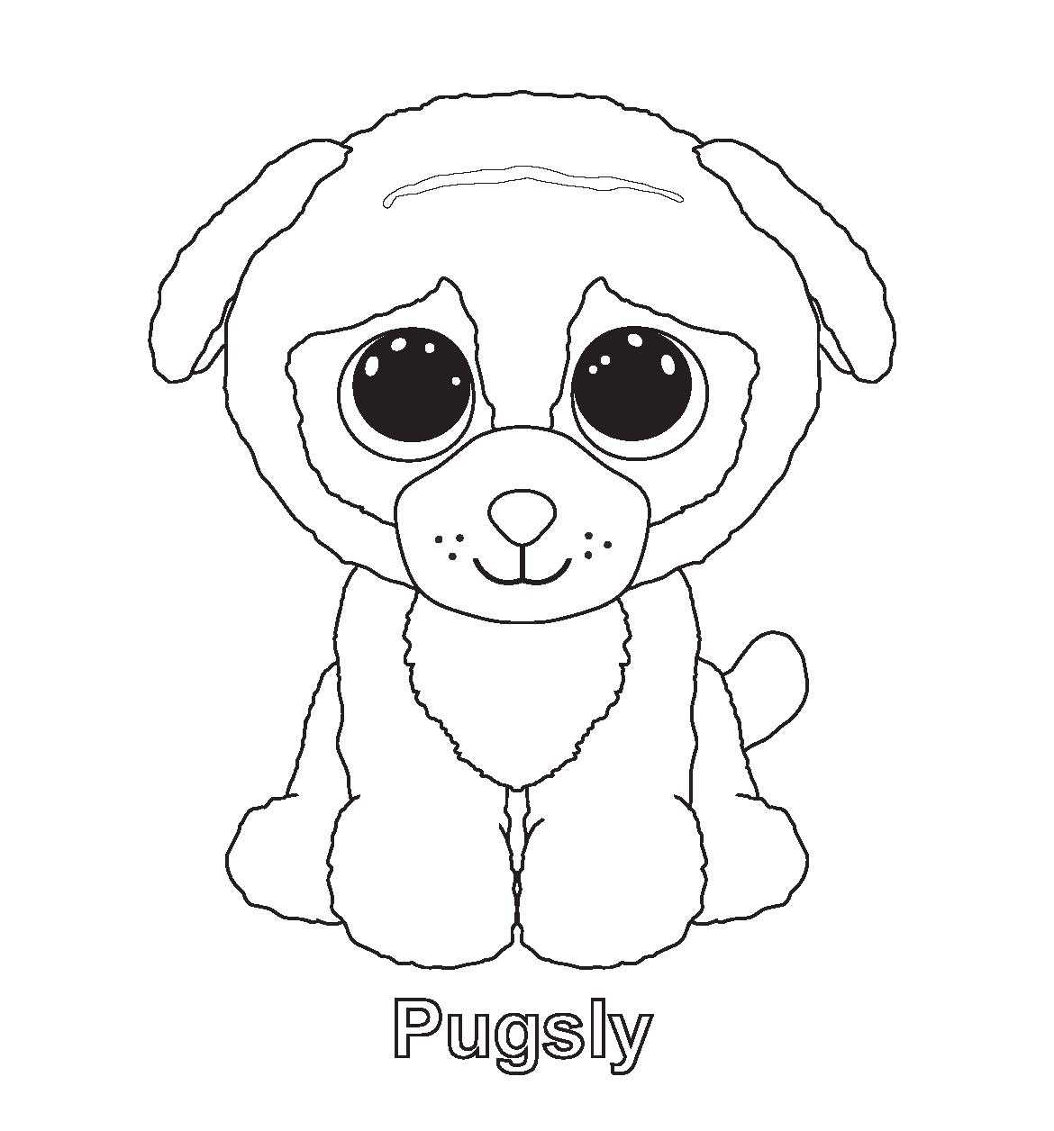 1170x1256 Ty Beanie Boos Coloring Pages