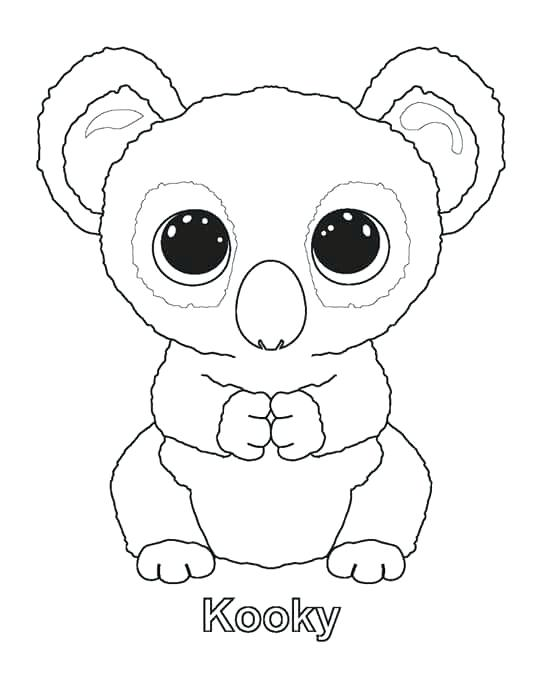 552x674 Ty Beanie Boo Coloring Pages To Print Beanie Boo Coloring Sheets