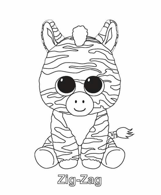 552x669 Ty Beanie Boos Coloring Pages Adorable Best Ty Beanie