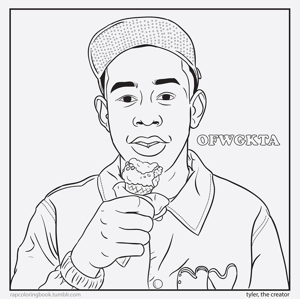 Tyler Coloring Pages At Getdrawings Com Free For Personal