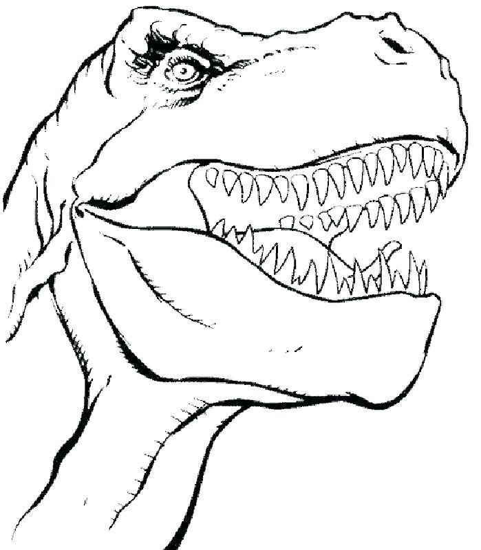 699x800 Trex Coloring Pages T Coloring Page Tyrannosaurus Coloring Page