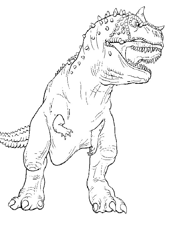 540x720 Dinosaur Coloring Pages