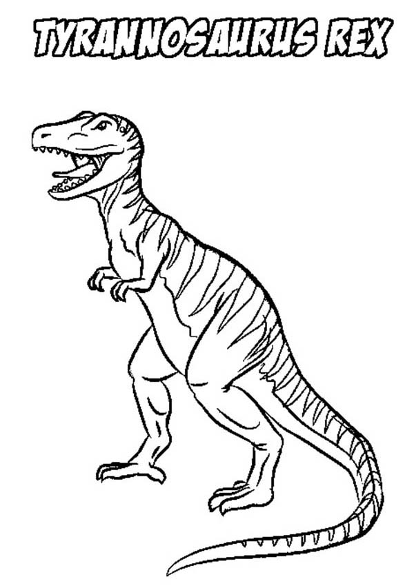 600x853 Stripping T Rex Coloring Page Color Luna