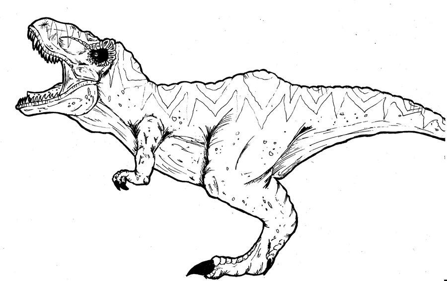 Tyrannosaurus Rex Coloring Page at GetDrawings   Free download
