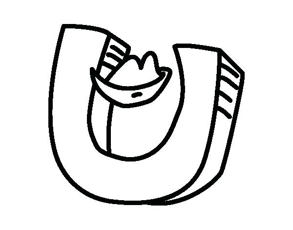 600x470 Letter Letter U Coloring Page Letter D Coloring Pages For Adults