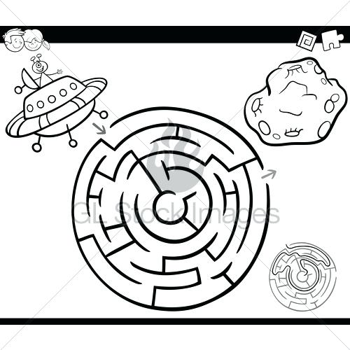 500x500 Ufo Coloring Pages Click The In A City Coloring Pages To View