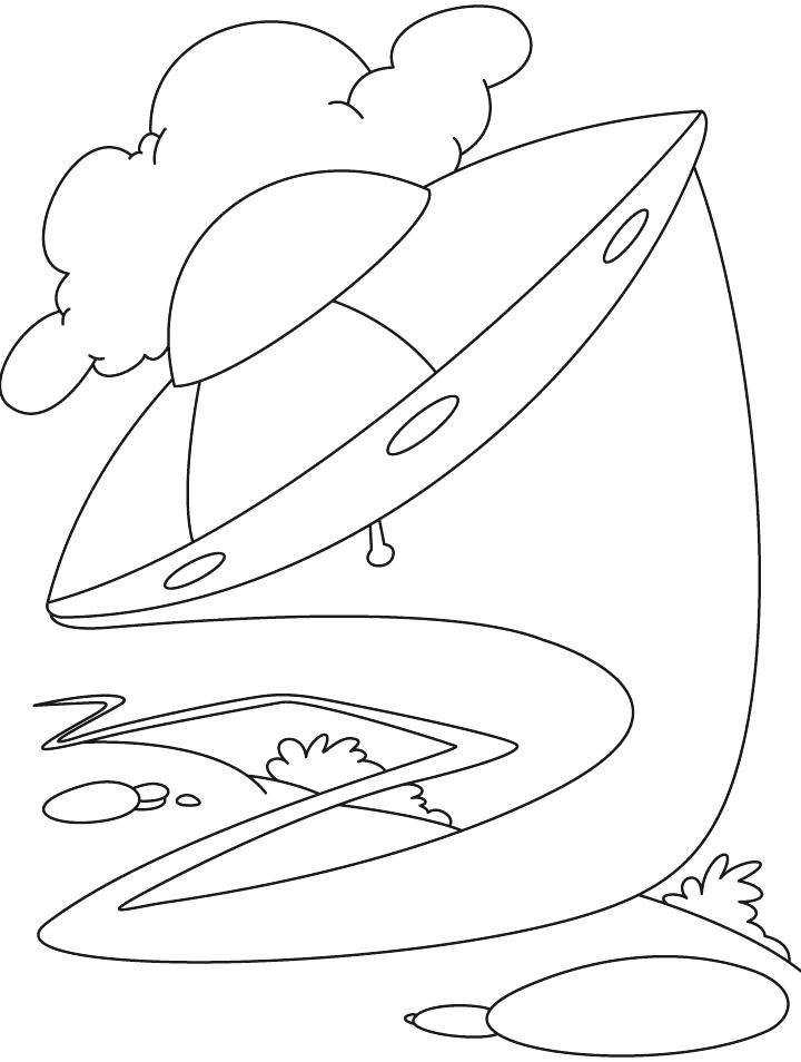720x954 Ufo Coloring Pages