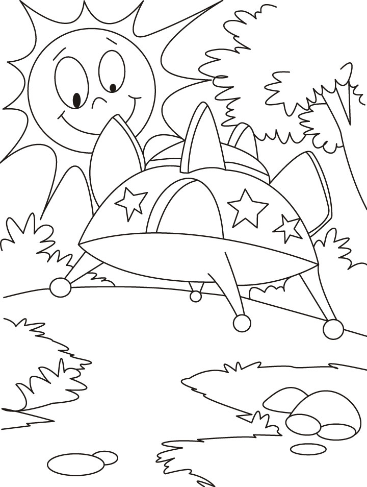 720x954 An Advanced Vehicle Ufo Coloring Pages It's World Ufo Day