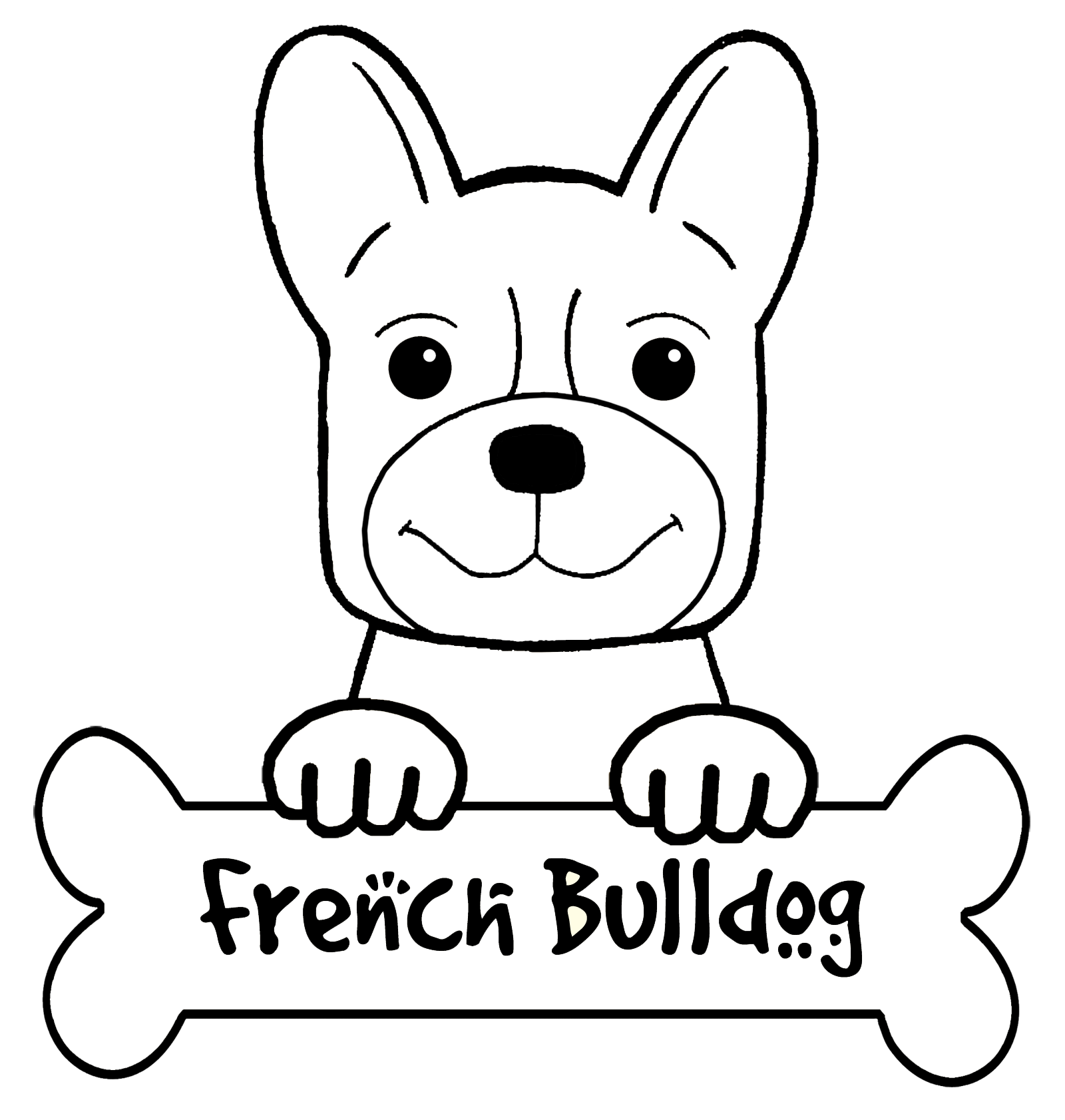 1600x1682 New Bulldog Coloring Pages Coloringsuite