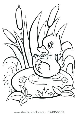 318x470 Ugly Duckling Coloring Pages Pigeon And Duckling Coloring Pages