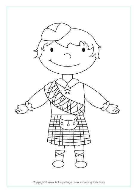 460x650 Scotland Coloring Pages Map Of Colouring Page Scotland Flag