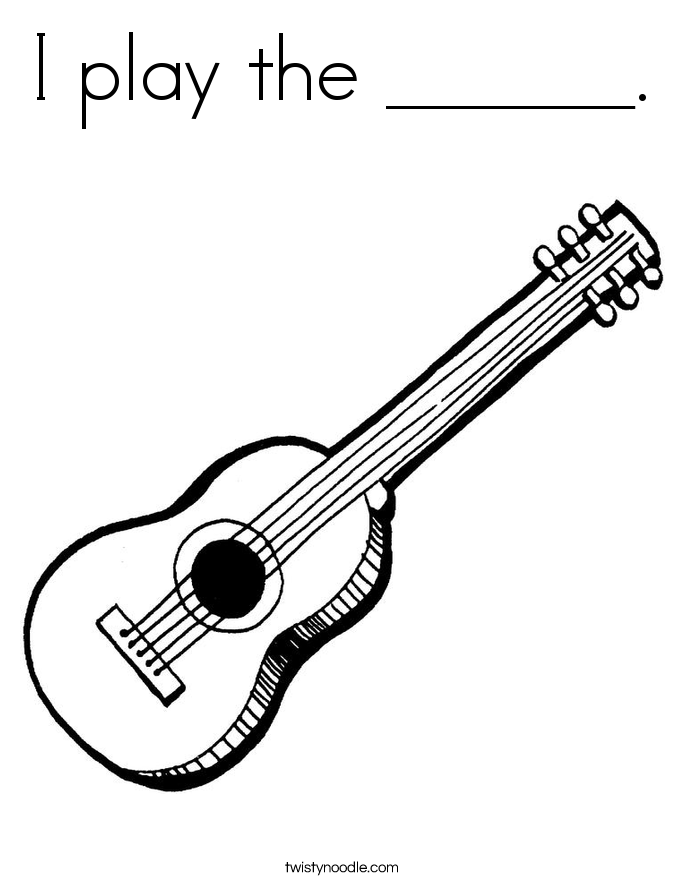 685x886 I Play The Coloring Page