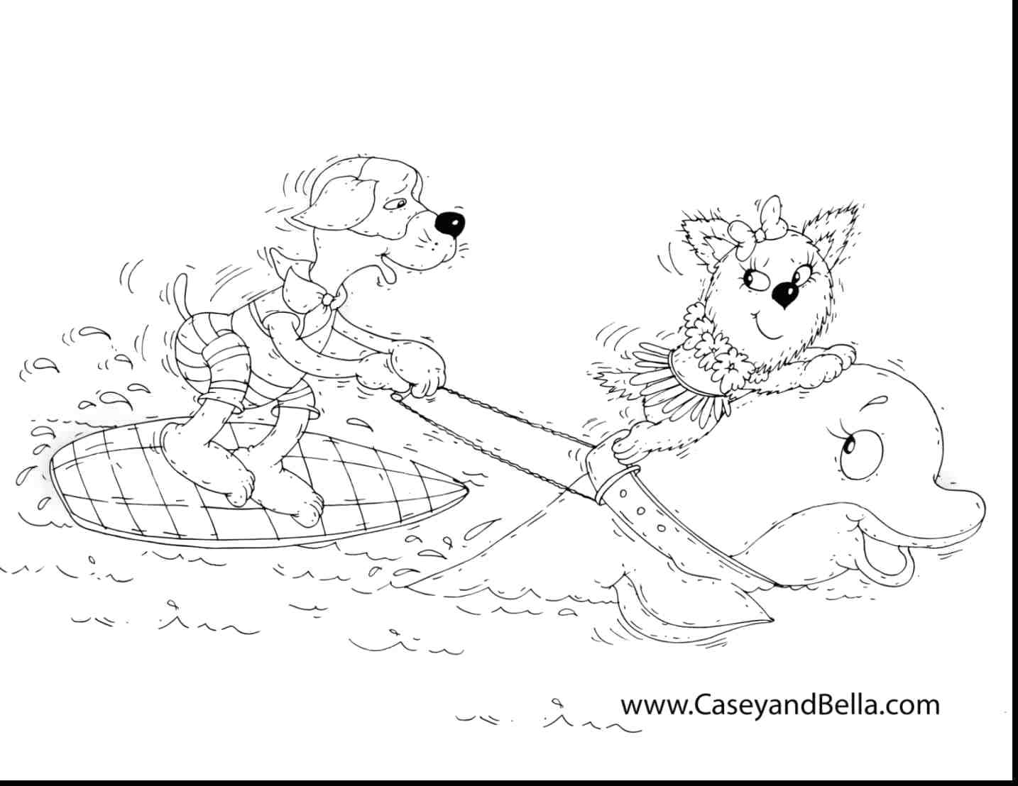 1434x1108 Picnic At Hawaiian Beach Coloring Page Pages Online Christmas Free
