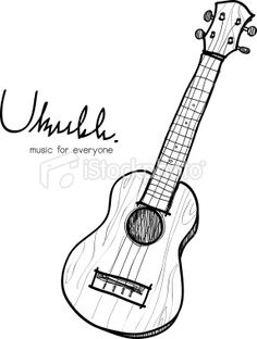 236x312 Ukulele Coloring Page Hawaii, Instruments And Music Education