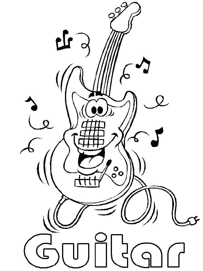 700x933 Ukulele Complete Coloring Page Musical Instruments Pages To Print