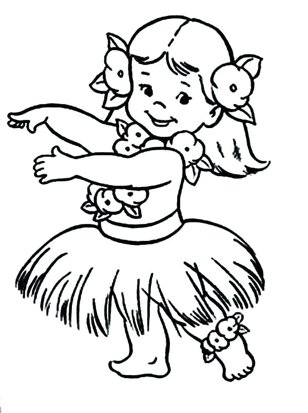 600x806 Coloring Luau Coloring Pages
