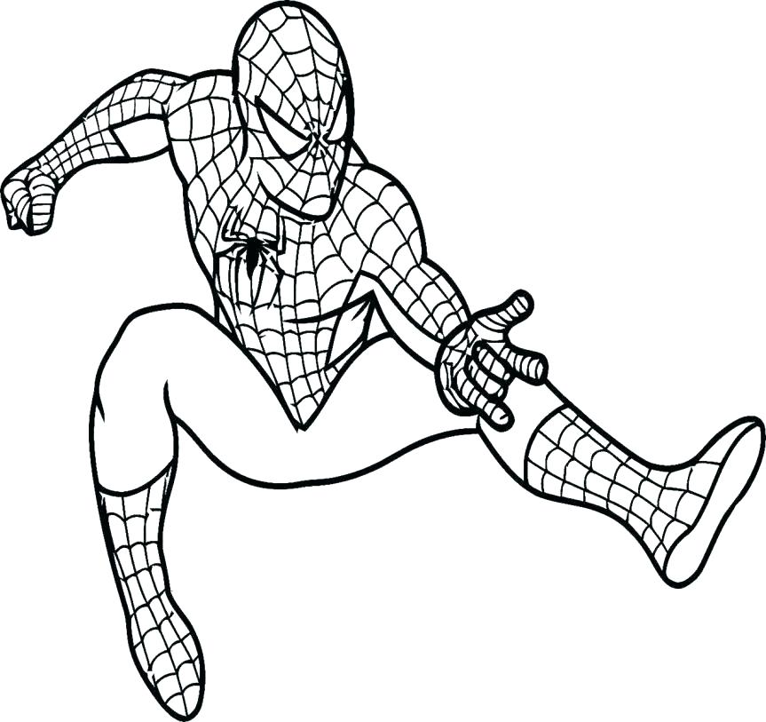 863x813 Spiderman Coloring Page Batman And Coloring Pages Coloring Pages