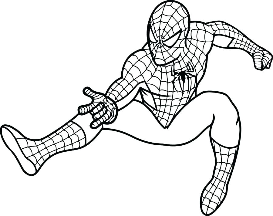 900x712 Ultimate Spider Man Coloring Pages Color Pages Coloring Pages