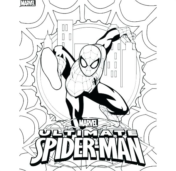 599x584 Ultimate Spiderman Coloring Pages Lego Logo Hulk And Kids